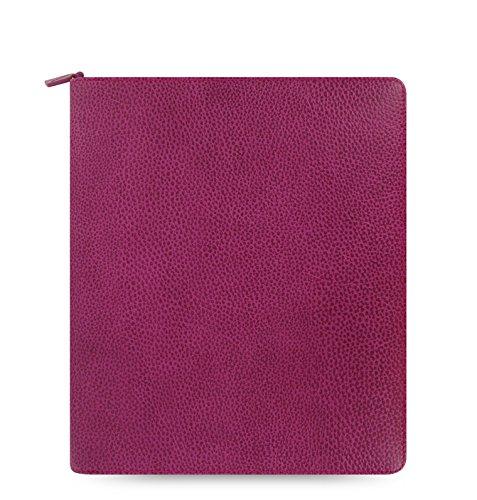 ファイロファックス フィンスバリー Finsbury iPad 2/3/4 ケース Raspberry システム手帳 ノートパッドホルダー 一体型 iPadケース 多機能ホルダー 16-829889 filofax   B01850ROEG