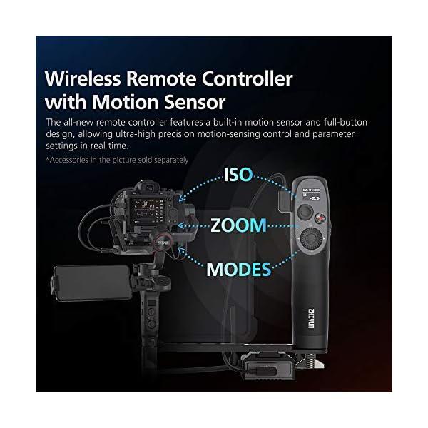 Zhiyun WEEBILL S Stabilizzatore Gimbal Palmare A 3 Assi Per Fotocamere Mirrorless, Smartphone, Motore Migliorato Del 300% Rispetto A Zhiyun Weebill Lab, Supporto Massimo 3 Kg (Pacchetto Standard) 5 spesavip