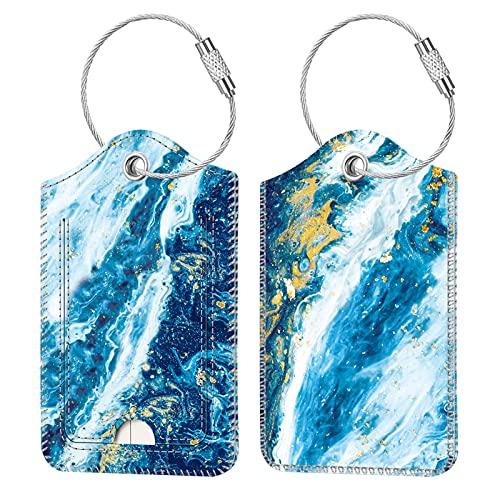 2 identificadores para valija equipaje mochila sandy wave