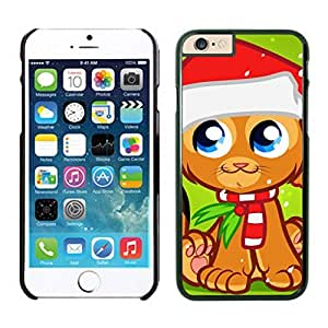 Best Buy Cartoon Christmas Decorated Cat Iphone 6 Cover Case For Iphone 6 4.7 Inch