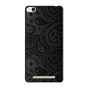 Cover It Up - Dark Curves Wallpaper Redmi 3s Hard Case