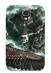Freshmilk Shock-dirt Proof Warcraft Case Cover Design For Galaxy S4 - Best Lovers