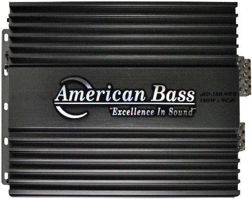 New American Bass Hd1504 Car Audio 4 Ch 600W Amplifier Amp 6