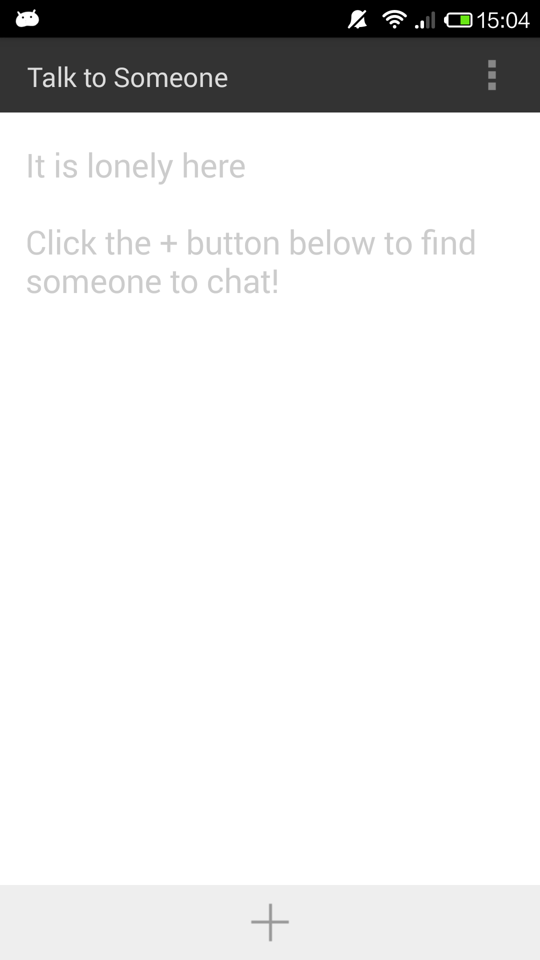 find someone to chat with