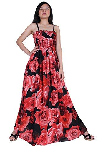 60a87363edba Galleon - MayriDress Maxi Dress Plus Size Clothing Women Ball Gala Party  Sundress Designer (1X-Long 57 Inch