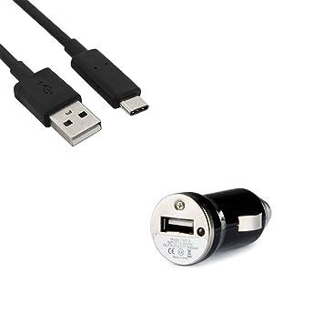 TERRAPIN Motorola Moto G5 Plus USB Mini cargador de coche ...