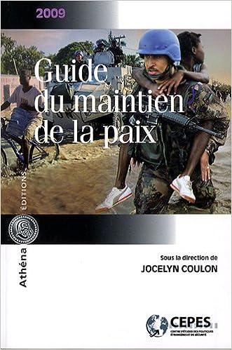 Guide du maintien de la paix 2009 pdf, epub ebook