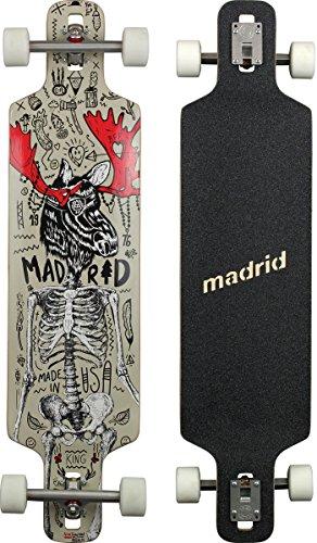 Madrid D.T.F. Drop-Thru Longboard, Moose, 41 Zoll