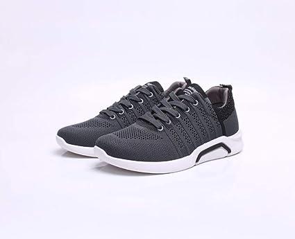YXWA Zapatos Casuales Zapatos Casuales, Zapatillas de Deporte de Camino de los Hombres Zapatillas de