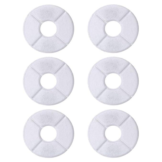 Amazon.com: Uspacific - 6 filtros de fuente para mascotas ...