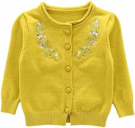 Moonnut Little Girls  Cute Rabbit Knit Cardigan Sweater (Baby Toddler) 995a023e7