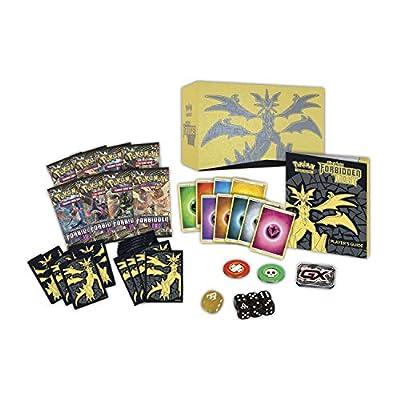 Pokemon TCG: Sun & Moon 6 Forbidden Light Elite Trainer Box, Multicolor: Toys & Games