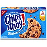 Chips Ahoy! Original Chocolate Chip Cookies (3 Resealable Family Size Packs)