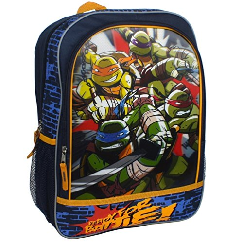 Teenage Mutant Ninja Turtles 3-D Backpack Ready for Battle