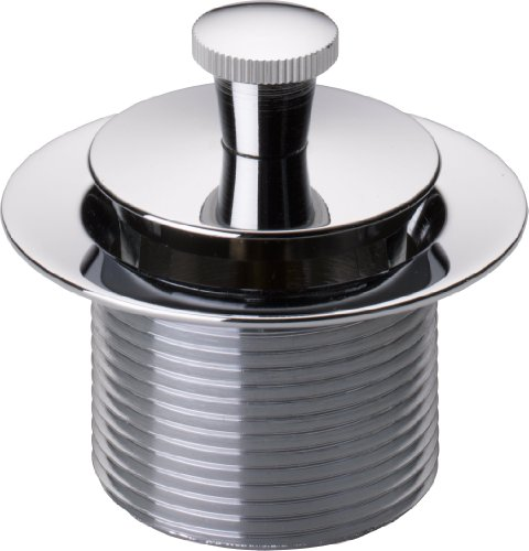 Peerless 76119 Lift and Turn Drain Stopper Bathtub, Chrome (Drain Delta Tub)