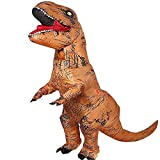 InflatableT-Rex Costume Dinosaur Suit Fancy Dress Cosplay Party Dressing Up & Costumes Funny