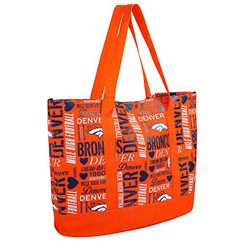 Denver Broncos Womens Collage Tote
