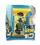 """Ben 10 """"Alien Force"""" Fleece Character Blanket 50 x 60-inches"""