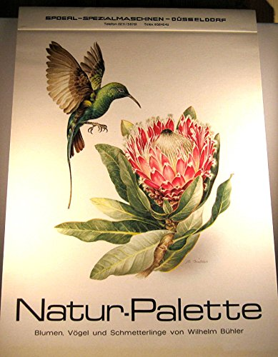 Rare First Year Edition 1977 Natur Palette Calendar By Wilhelm