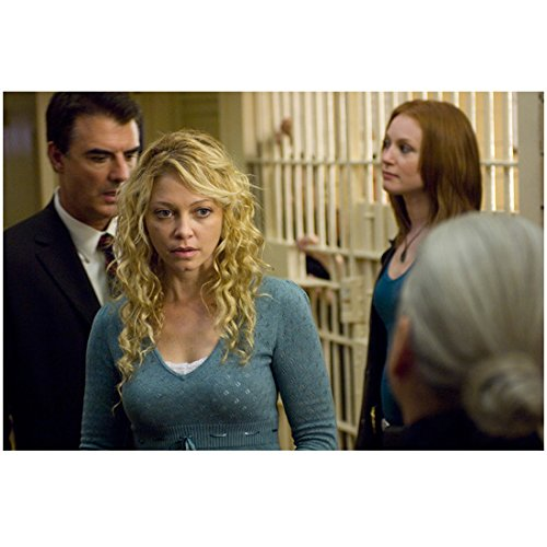 Law & Order: Criminal Intent 8x10 Photo Chris Noth & Alicia Witt Next to Jail Cell kn