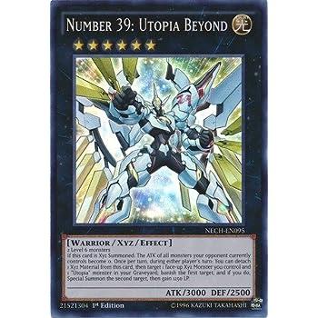 Amazon.com: Yu-Gi-Oh! - Number 39: Utopia Roots (LVAL-EN048 ...