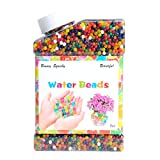 Water Beads Rainbow Colored Mix Water Growing Balls for Kids Tactile Sensory Toys Wedding Party Pool