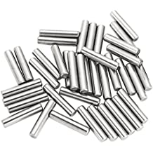 eBoot Dowel Pin Stainless Steel Shelf Support Pin Fasten Elements, 5 mm by 24 mm, 40 Pieces