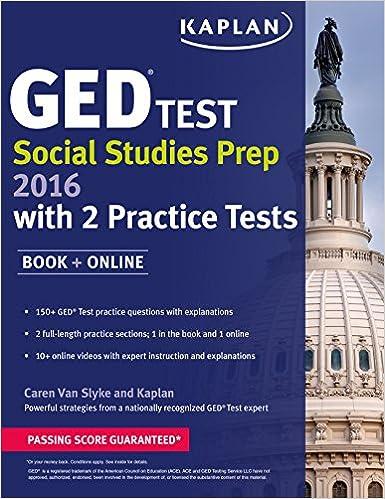 Kaplan GED® Test Social Studies Prep 2016: Book + Online (Kaplan ...