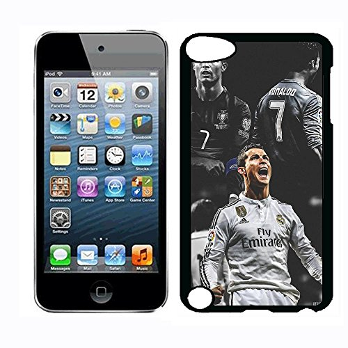 (WZSY Cristiano Football Superstar Ronaldo Juventus Case for iPod Touch 5th iPod Touch 6th Case,PC Hard Case)
