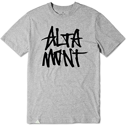 Altamont Tee (ALTAMONT T-Shirt Stacked TEE Grey Size S)