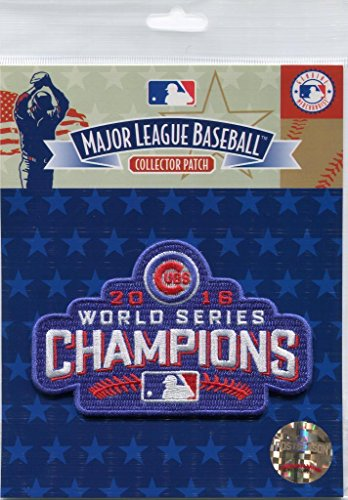 Chicago Cubs 2016 World Series Champions Official Licensed MLB Patch Major League (Official Mlb World Series)
