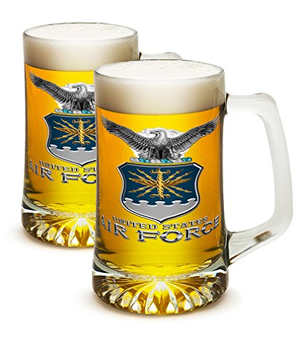 United States Air Force Honor Guard - SET OF 2 United States Air Force MCMXLVII 25 Ounce Tankard Beer Mugs