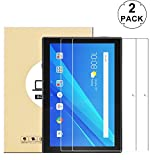 KTTWO (2 PACK) Lenovo Tab 4 10 Screen Protector Glass, 9H Hardness Tempered Glass Anti-Scratch Bubble-Free Screen Protector for Lenovo Tab 4 10 10.1' Tablet