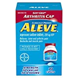 ALEVE Pain Relief Caplets, Up To 12-Hour Relief, Naproxen Sodium 220mg, 70 Caplets