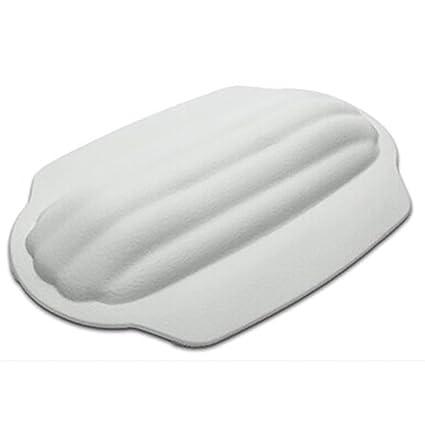 LIUSHU Hotel Almohadas de Baño de Espesor Masaje Impermeable Almohada con Ventosa para Todos los usos