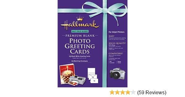 Amazon hallmark half fold glossy premium photo greeting cards amazon hallmark half fold glossy premium photo greeting cards 15 count m4hsunfo