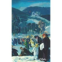 Love of Winter: George Wesley Bellows Art Print (Blank Lined) Journal Notebook