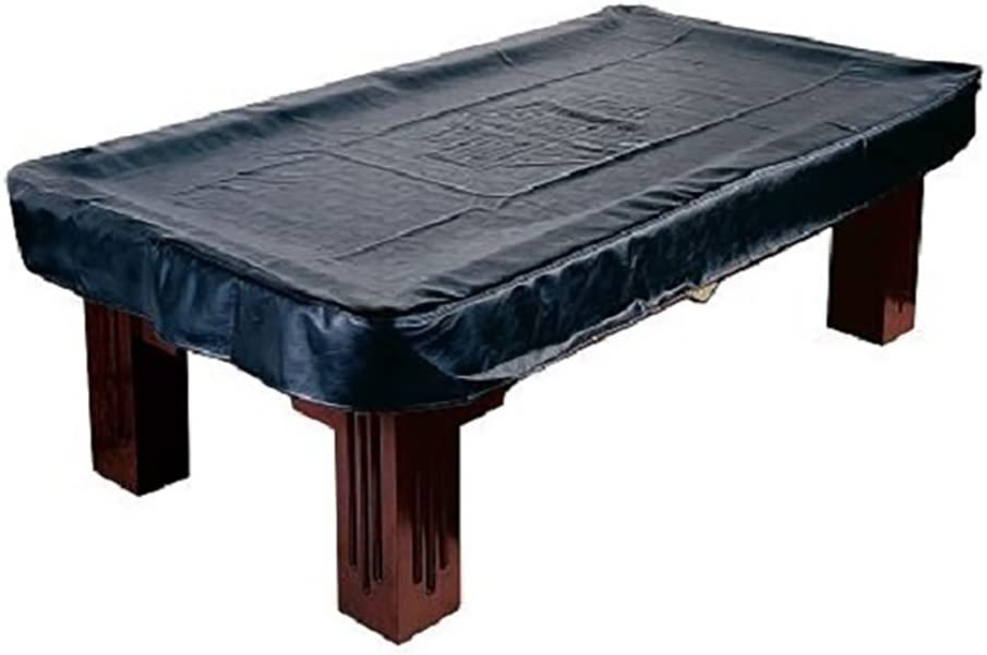 Harley Davidson Pool Table Cover 8 Foot Heavy Weight Black Vinyl HD w// FREE Ship