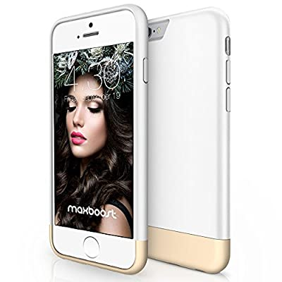 iPhone 6 Case, Maxboost [Vibrance Series] Protective Slider Case for Apple iPhone 6 (4.7) [Lifetime Warranty] SOFT-Interior Scratch Protection with Vibrant Trendy Color Cover Accessories (All Colors)