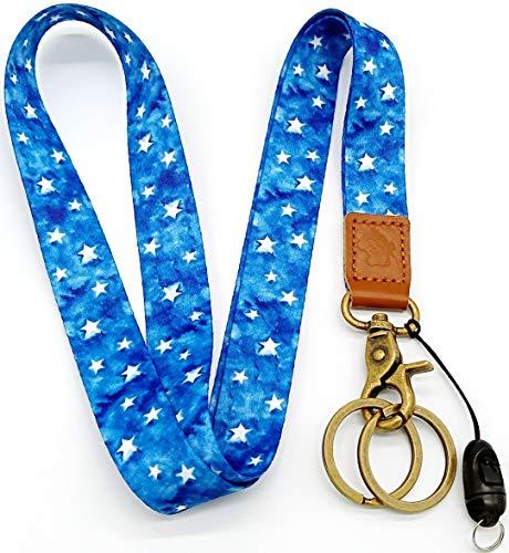 (H.M Star Neck Lanyard with ID Holder/for Keys/ID Badges Holder/Mobile Phone etc)