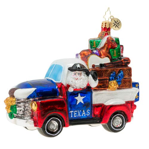 Christopher Radko Texas Treasures! Christmas Ornament