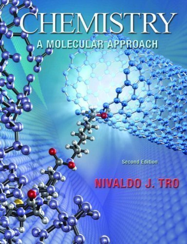 By Nivaldo J. Tro: Chemistry: A Molecular Approach (2E) Second (2nd) Edition TEXTBOOK (non kindle) [HARDCOVER]