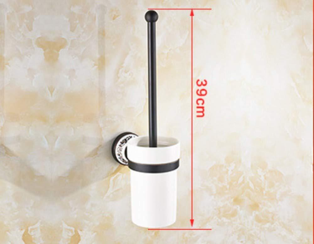 Porte Serviette Murale Porte-serviettes r/étro noir salle de bain cuivre antiquePorte-serviettes salle de bain Tenture murale mat/ériel pendentif ensemble anneau de serviette