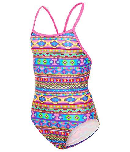 300cb34d31330 Maru Girls Aztek Wonder Pacer Fly Back Swimsuit UK32