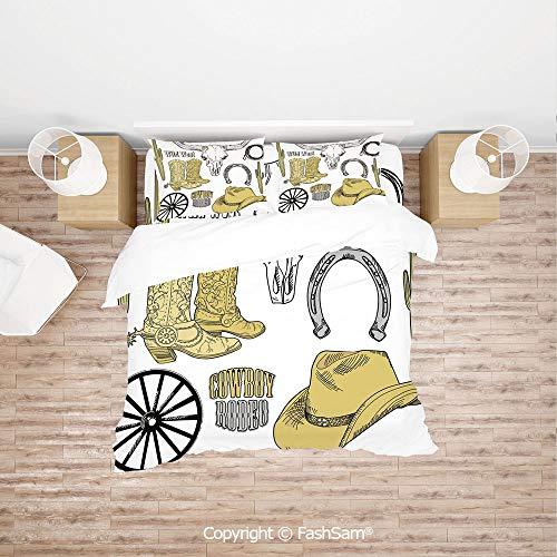 Ladybug Fancy Cone Hats - FashSam Duvet Cover 4 Pcs Comforter