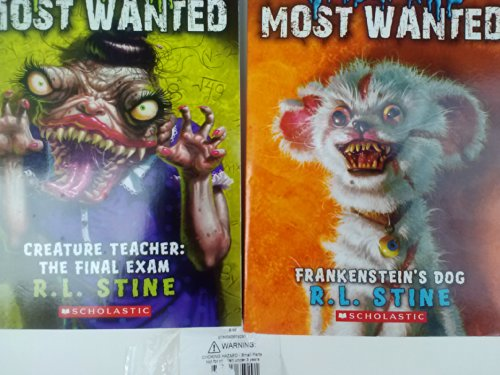 (Goosebumps Most Wanted, a Brand-new Take on Terror (Creature Teacher: The Final Exam & Frankenstein's Dog) Special Value)