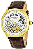 Stuhrling Original Men's 571.3335K2 Classic Winchester Tempest II Automatic Skeleton Gold Tone Watch