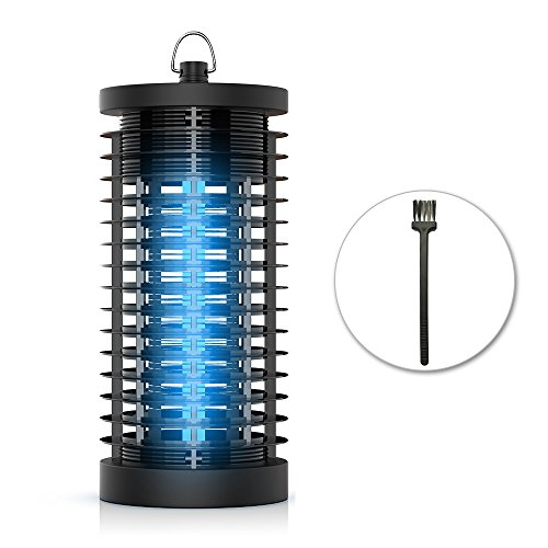 7W Electric Bug Zapper Dodocool Indoor Outdoor 360 Coverage Fly Zapper And Bug Zapper Electronic Insect Killer With Uv Fly Killer Trap  Mosquito Zapper Lamp 2 000 Sq  Ft  For Indoor And Outdoor
