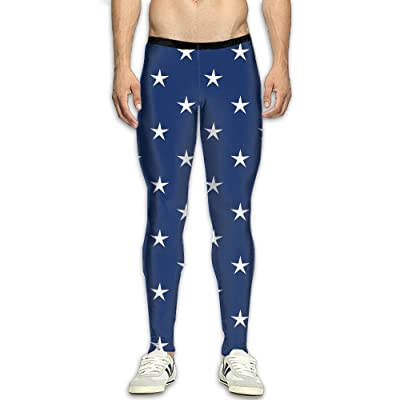 Fri Stars Skins Compression Pants/Running Tights Running Tights Men Athletes Side Pocket