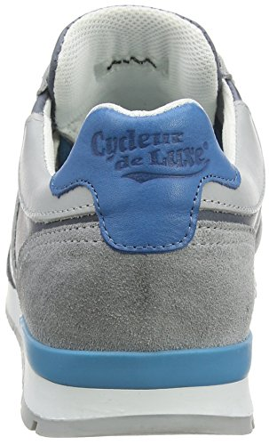 Cycleur de luxe New Sanremo - Zapatillas altas Hombre Gris - Grau (LIGHT GREY + JEANS BLUE + STRONG AQUA + OFF WHITE)